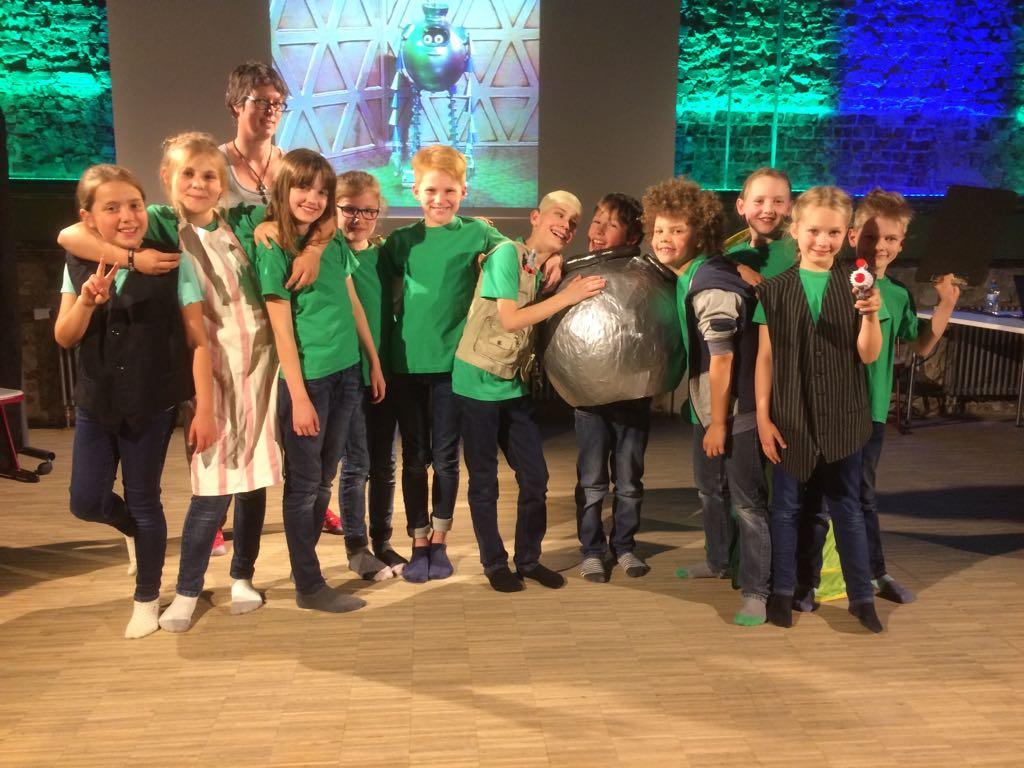 Theater AG-Aufführung: Schlappi und Windi